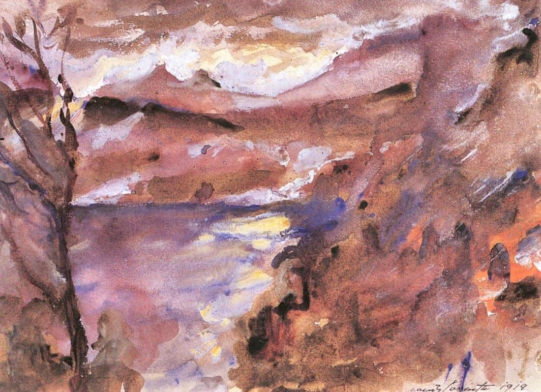Walchensee [5] - Lovis Corinth